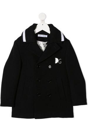 Dolce & Gabbana Kids Jungen Mäntel - Doppelreihiger Mantel