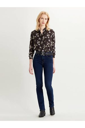 Levi's 724™ High Waisted Straight Jeans - Dark Blue / Dark Blue