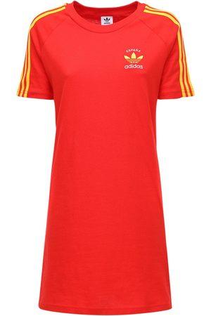 """adidas T-shirt-kleid Aus Baumwolle """"3-s Italy"""""""