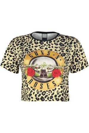Guns N' Roses Amplified Collection - Bullet Crop T-Shirt multicolor
