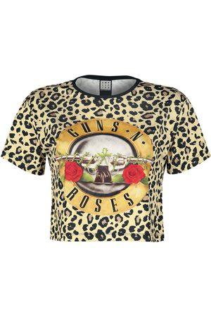 Guns N´Roses Damen T-Shirts, Polos & Longsleeves - Amplified Collection - Bullet Crop T-Shirt Mehrfarbig