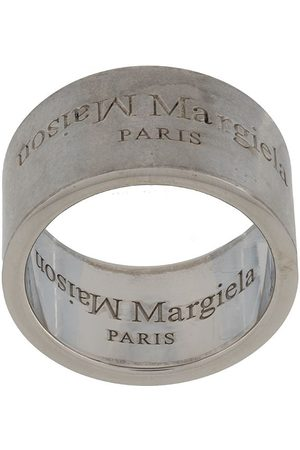 Maison Margiela Ring mit graviertem Logo