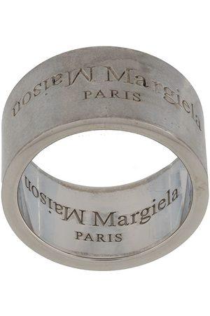 Maison Margiela Ringe - Ring mit graviertem Logo