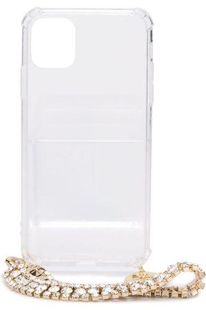 ROSANTICA Damen Handy - IPhone 11 Pro-Hülle mit Kristallen