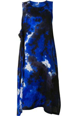 Y's Kleid mit Batikmuster