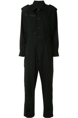 YOHJI YAMAMOTO Damen Jumpsuits - Button-down-Jumpsuit
