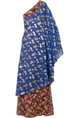 Dundas Damen Asymmetrische Kleider - KLEIDER - Lange Kleider
