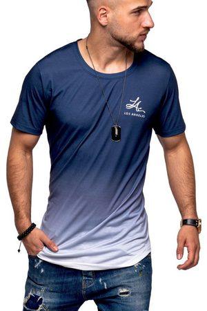 behype T-Shirt »LA« mit modischem Farbverlauf