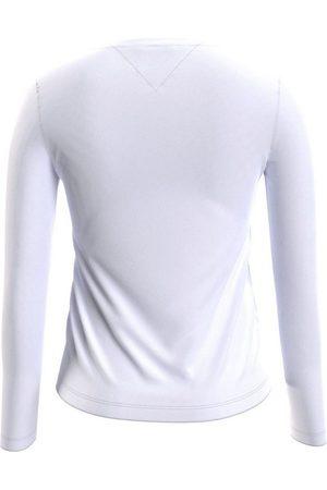 Tommy Hilfiger Langarmshirt »TJW JERSEY V NECK LONGSLEEVE« mit Logo-Flag auf der Brust