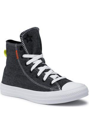 Converse Ctas Hi 168595C Black/Lemon Venom/White