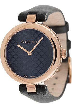 Gucci Diamantissima leather watch