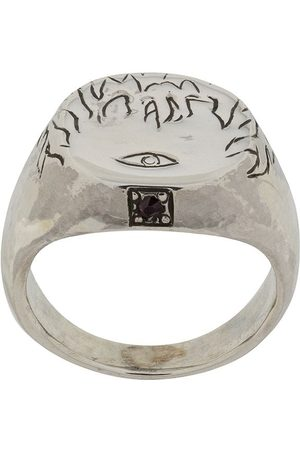 HENSON Flames & Eye' Ring mit Rubin