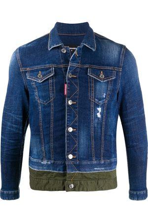 Dsquared2 Zweifarbige Jeansjacke