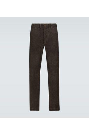 RRL Straight-Leg-Hose aus Baumwollcord