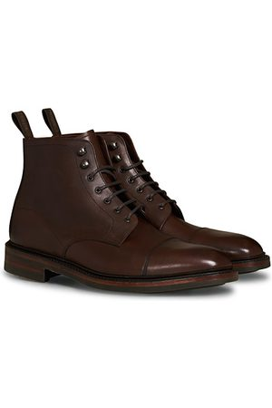 Loake Herren Stiefel - Roehampton Boot Dk Brown Burnished Calf