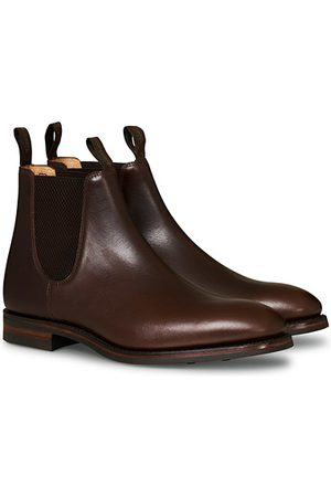 Loake Herren Chelsea Boots - Chatsworth Chelsea Boot Dk Brown Waxy Calf