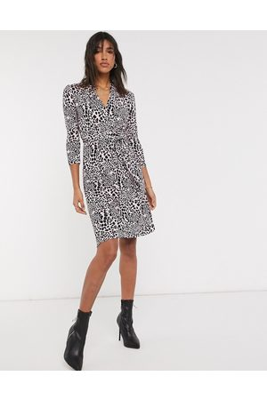 French Connection – Meadow – Jerseykleid mit Animalprint in