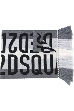 Dsquared2 Herren Schals - Schal mit Jacquard-Logo