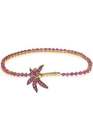 YVONNE LÉON Damen Armbänder - 18kt Gelbgoldarmband mit Saphiren