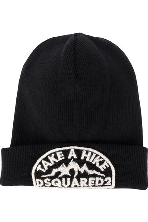 Dsquared2 Herren Hüte - Mütze mit Logo-Stickerei