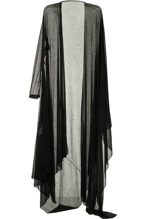 YOHJI YAMAMOTO Damen Strickjacken - Long asymmetric cardigan