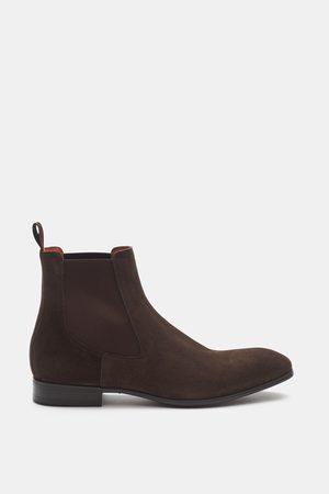 santoni Herren - Chelsea Boot dunkelbraun
