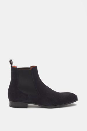 santoni Chelsea Boot navy