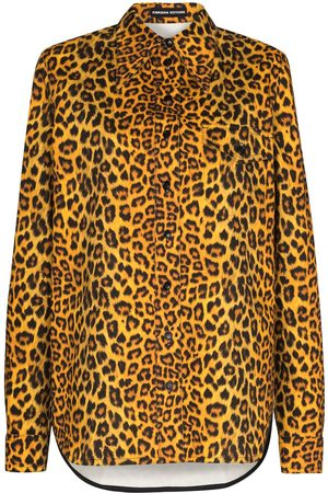 Kwaidan Editions Hemd mit Leoparden-Print