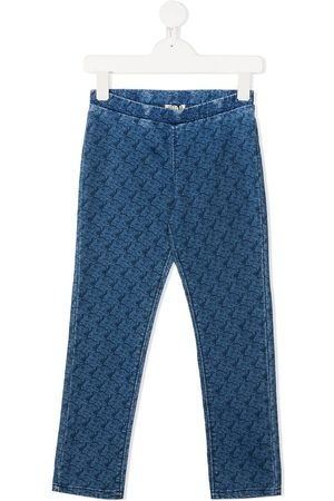 Kenzo Jeans mit Tiger-Print