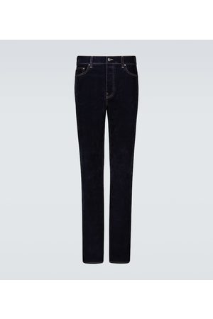 AMIRI Jeans aus Stretch-Samt