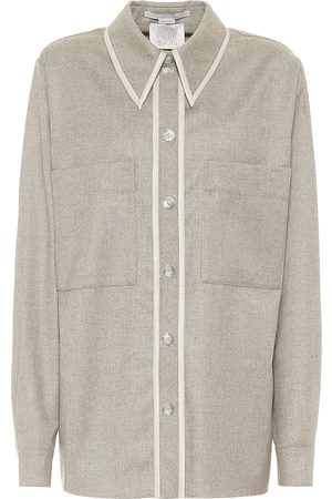 Stella McCartney Bluse aus Wollflanell
