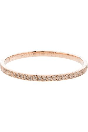 JACQUIE AICHE 14kt Rotgoldarmband mit Diamanten
