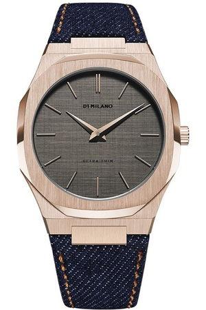 D1 MILANO Western Denim Ultra Thin Armbanduhr, 40mm