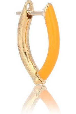 Melissa Kaye Einzelner Ohrring Cristina aus aus 18kt Gelbgold und Emaille