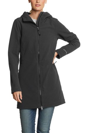 Eddie Bauer Damen Trenchcoats - Windfoil Thermal Trenchcoat Damen Gr. S