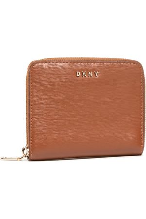 DKNY Bryant-Sm Zip Around R8313656 Caramel 237