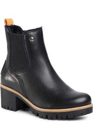 Panama Jack Damen Stiefel - Pia Igloo Trav B1 Napa Negro/Black