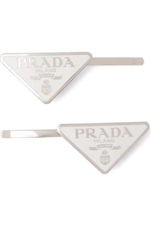 Prada Damen Haarschmuck - Haarspangen mit Logo