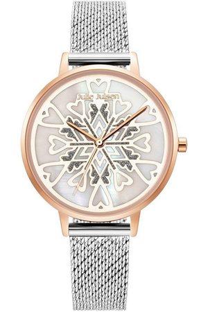 JULIE JULSEN Uhren - Quarzuhr »Heart Crystal Rosé, JJW1016RGSME«
