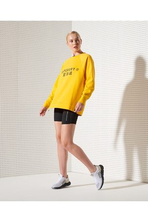 Superdry Sport Training Tight Shorts aus Netzstoff