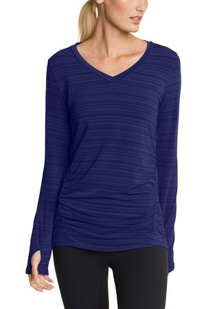 Eddie Bauer Trail Light Shirt - geringelt Damen Gr. XS