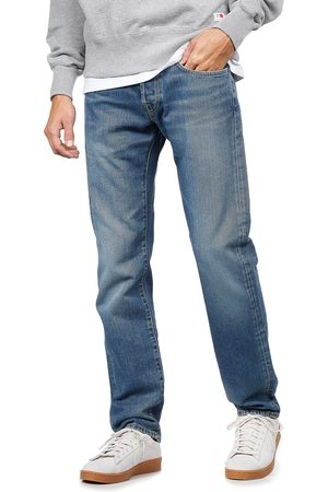 Edwin ED-55 Regular Tapered Jeans Yoshiko Left Hand Denim, 12.6 oz