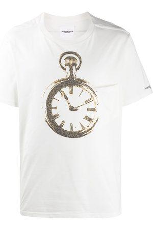 Takahiromiyashita The Soloist Hemd mit Uhren-Print
