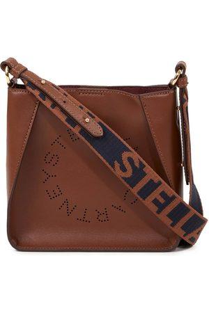 Stella McCartney Mini Bag 'Hobo Eco Soft Small' mit perforiertem Logo
