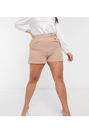 Saint Genies – Shorts in Camel, Kombiteil
