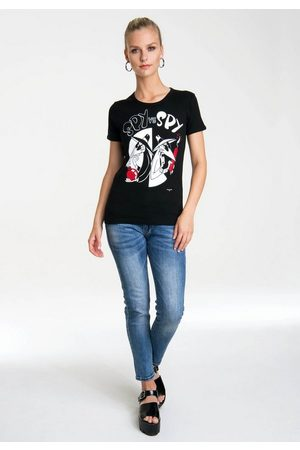 LOGOSHIRT T-Shirt »Spy vs. Spy - Bomb and Dynamite« mit lizenziertem Originaldesign