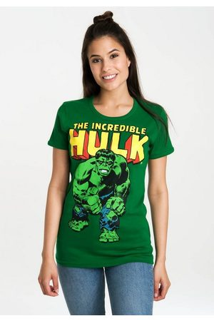 LOGOSHIRT T-Shirt »The Incredible Hulk« mit lizenziertem Originaldesign
