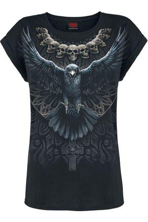 Spiral Damen T-Shirts, Polos & Longsleeves - Raven Skull T-Shirt