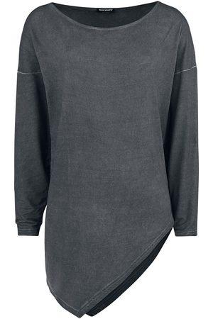 Rockupy Damen Longsleeves - Asymetric Longsleeve Langarmshirt