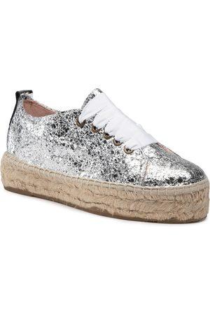 MANEBI Sneakers D G 0.3 E0 Silver Crackle